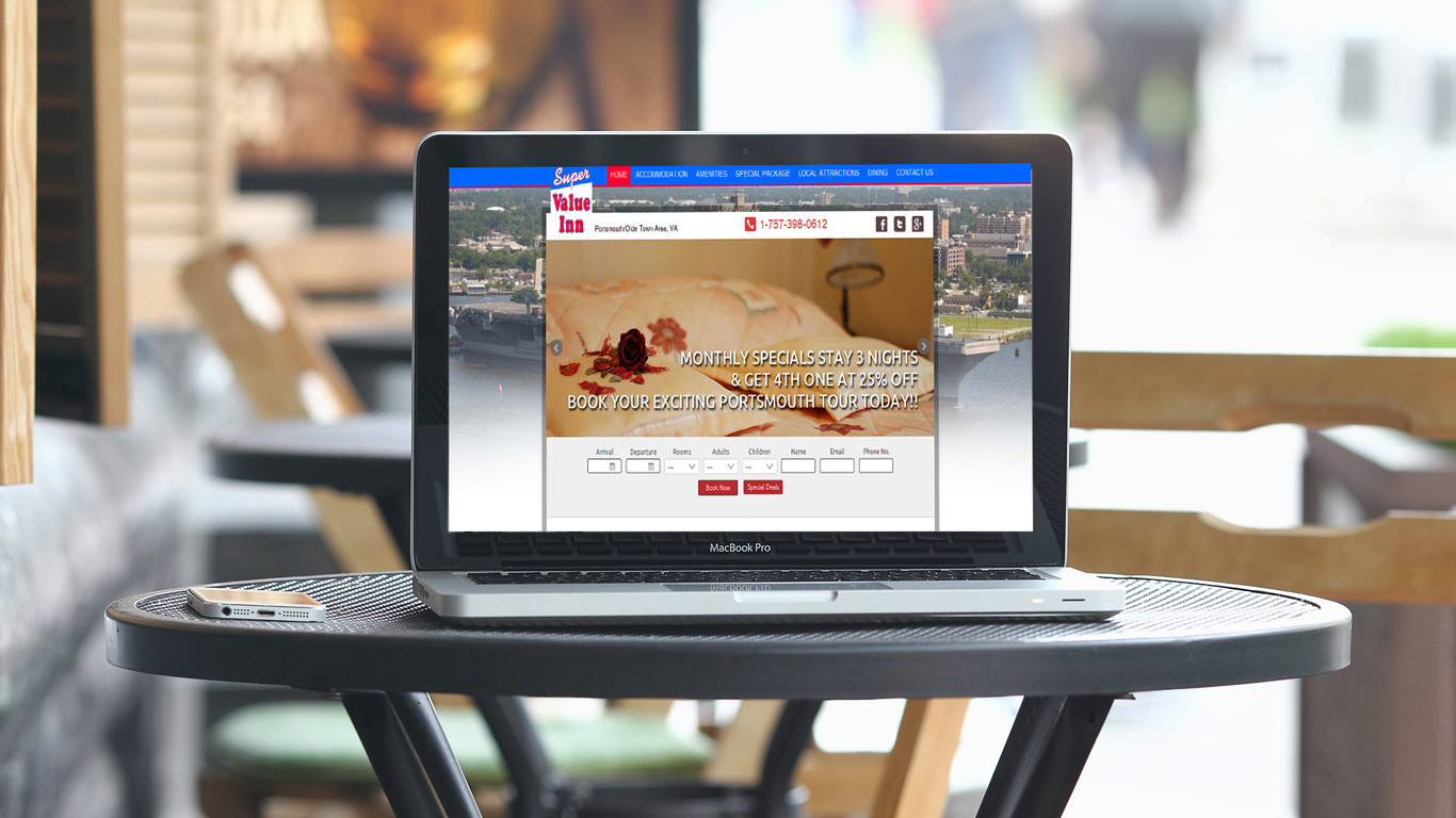 Hotel Website Design Solution